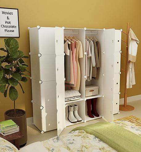 Koossy Erweiterbares Kleiderschrank Regalsystem Für Kinderzimmer - Regalsystem schlafzimmer