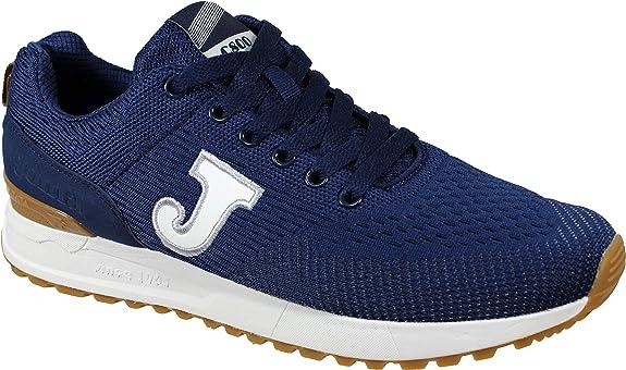 Joma C.800 Men 2003 Navy - Zapatillas Hombre Cordones Retro: Amazon.es: Zapatos y complementos