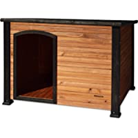 Precision Pet Outback Log Cabin Dog House, Large, 45 1/2x33x33-Inches
