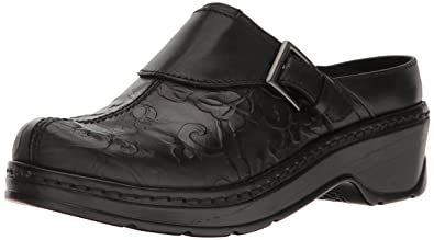Klogs USA Women's Austin Mule,Black Flower Tool,7 ...