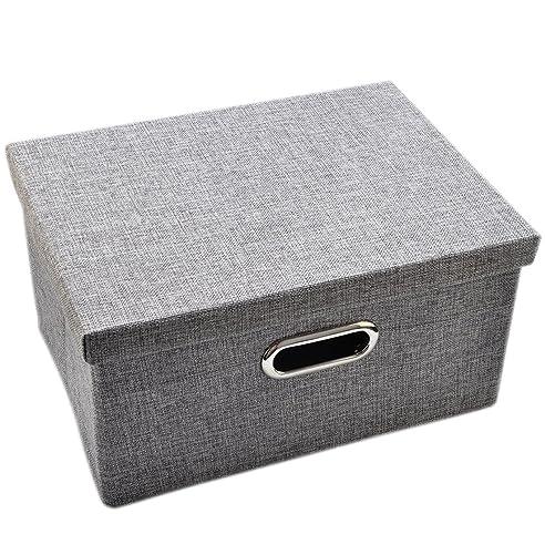 Aufbewahrungsbox Mit Deckel, FOKOM CD Box DVD Box Karton CD/DVD  Aufbewahrungsbox CD/ Home Design Ideas