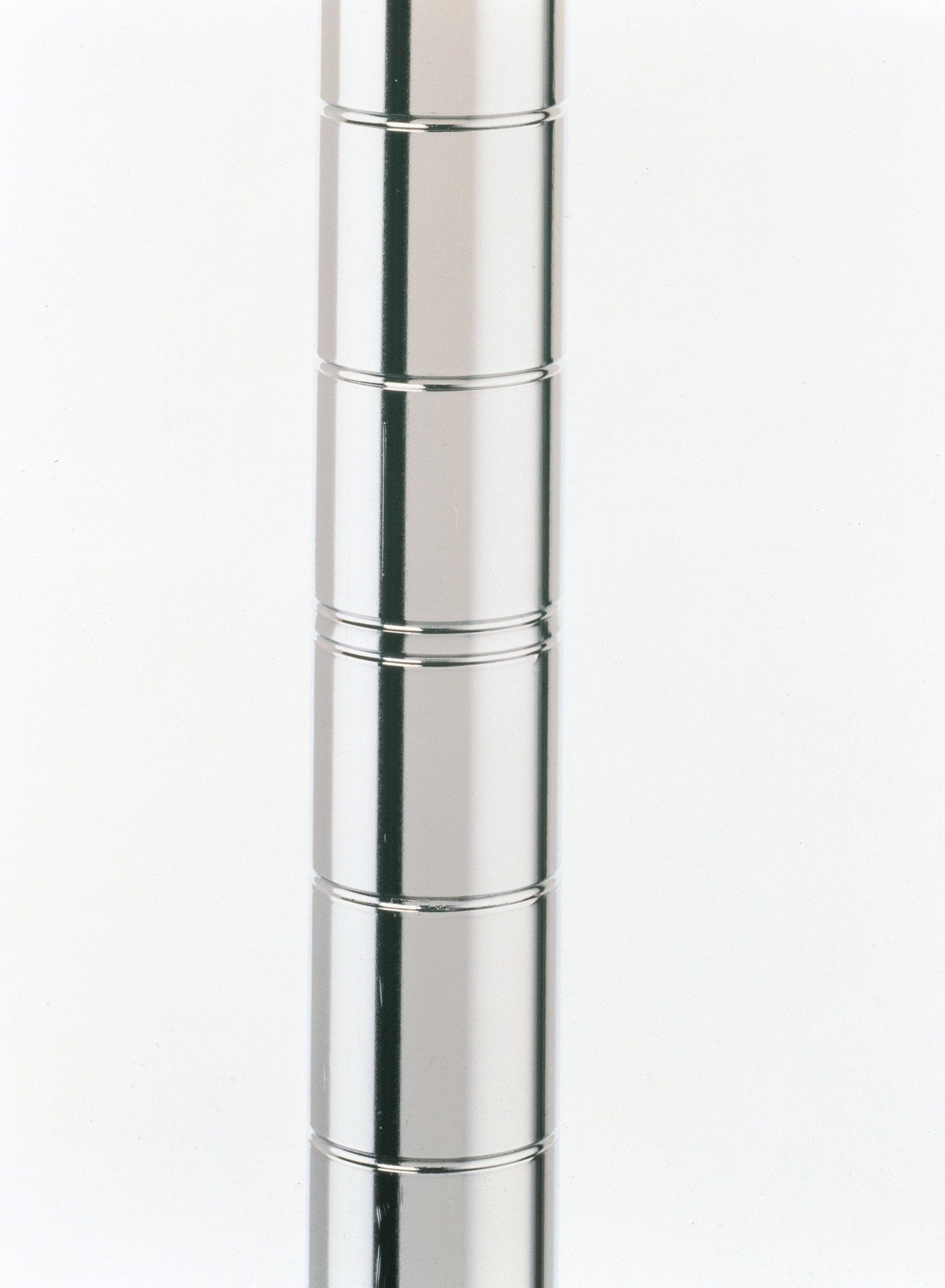 """8 ea Metro Stainless Steel post 62-9/16"""" for use with casters (not included)."""