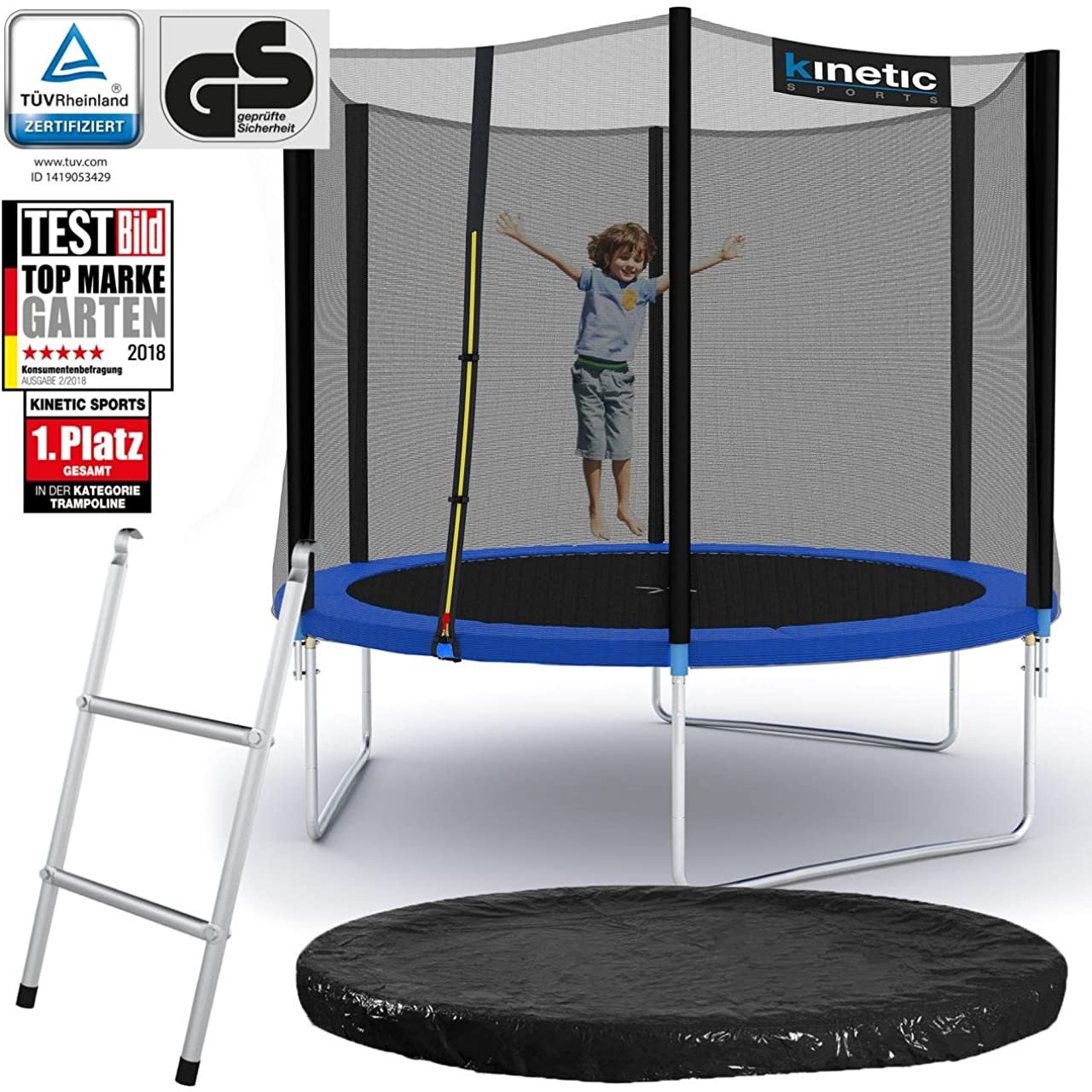 gartentrampolin test alle modelle f r 2018 im test. Black Bedroom Furniture Sets. Home Design Ideas