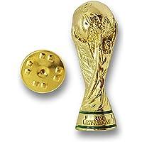FIFA Classics World Cup Pin Trophy In 2D Réplica, Unisex Adulto, Dorado, 30 mm
