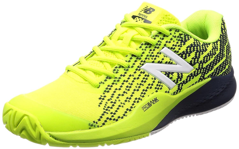 [ニューバランス] テニスシューズ MCH996(現行モデル) B076KRF7YK 28.5cm 2E イエロー/ネイビー