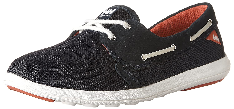 Helly Hansen Women's W Lillesand Fashion Sneaker B01J7G0L7Y 6 D US|Navy/Cayenne/Off White