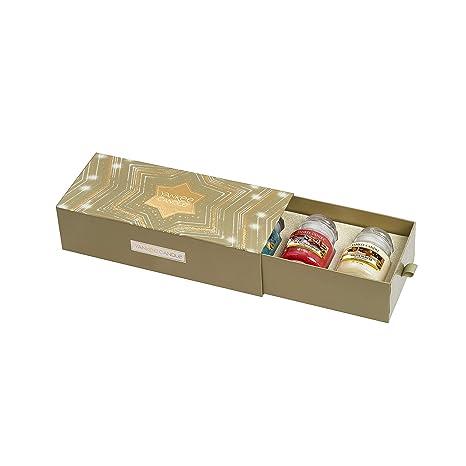 Yankee Candle-Geschenkset mit 3/kleinen Duftkerzen im Glas