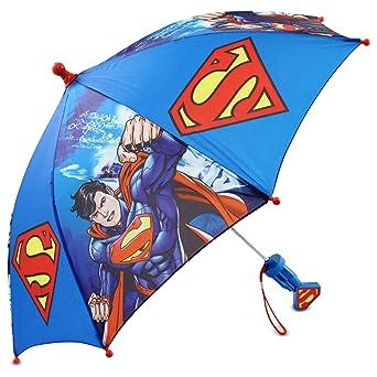Amazon.com: DC Comics Little Boys Batman or Superman Slicker and Umbrella Rainwear Set, Age 2-7: Clothing