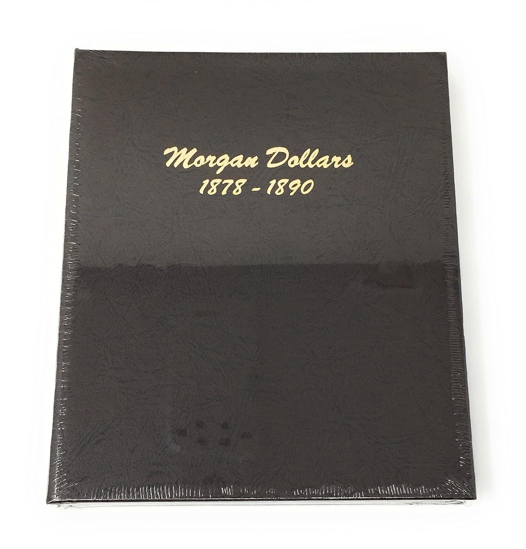 Dansco New Morgan Dollars 1878-1921 #7171 Date Set Coin Book