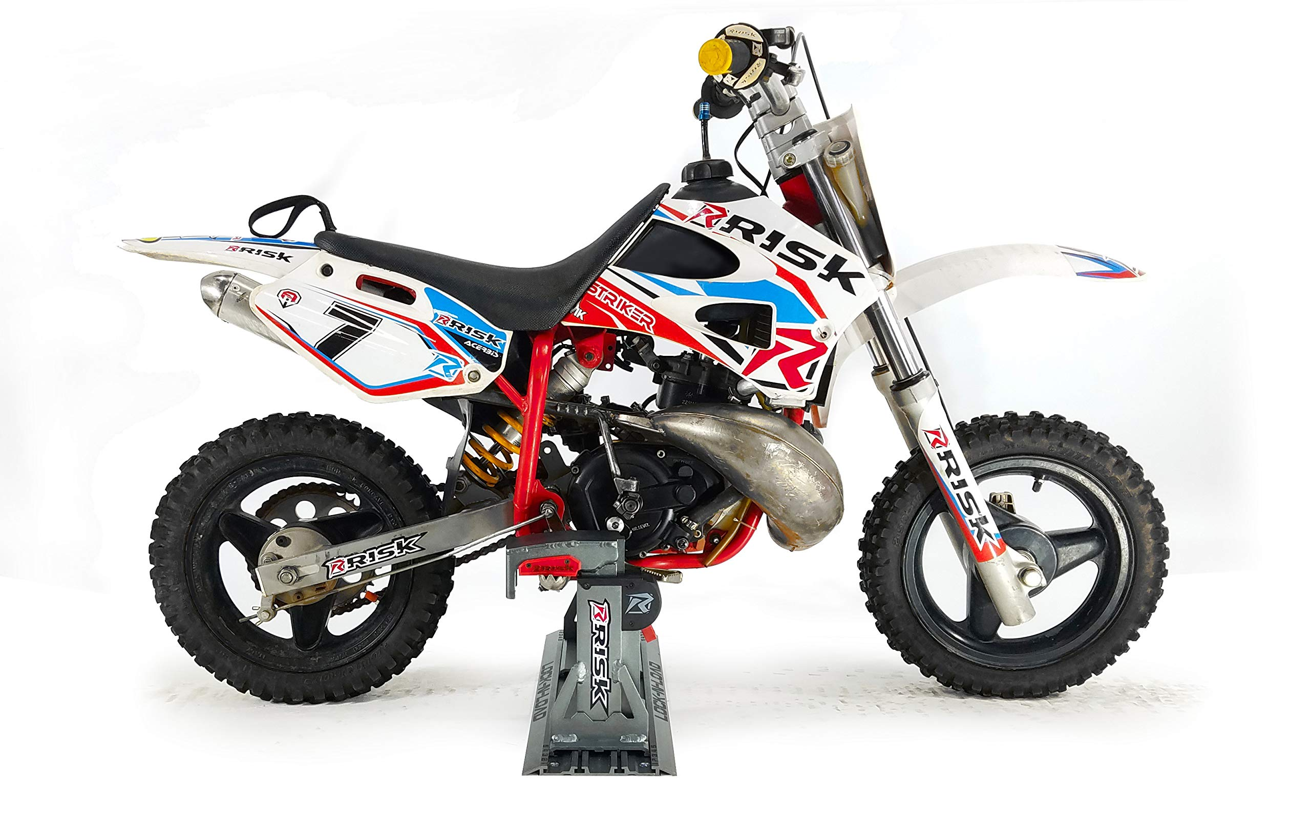 Risk Racing 00176 Silver Lock-N-Load PRO Mini - Strapless Motocross Transport System by Risk Racing (Image #3)