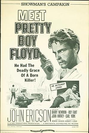Pretty Boy Floyd 1960 Press Book John Ericson Barry Newman Roy