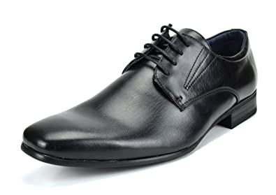 Bruno Marc DP Mens Formal Modern Classic Lace Up Leather Lined Oxford Dress Shoes Oxfords