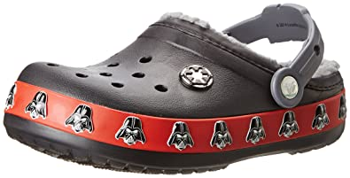 72a90ff4a7efb crocs 16337 Darth Vader Clog (Toddler Little Kid)