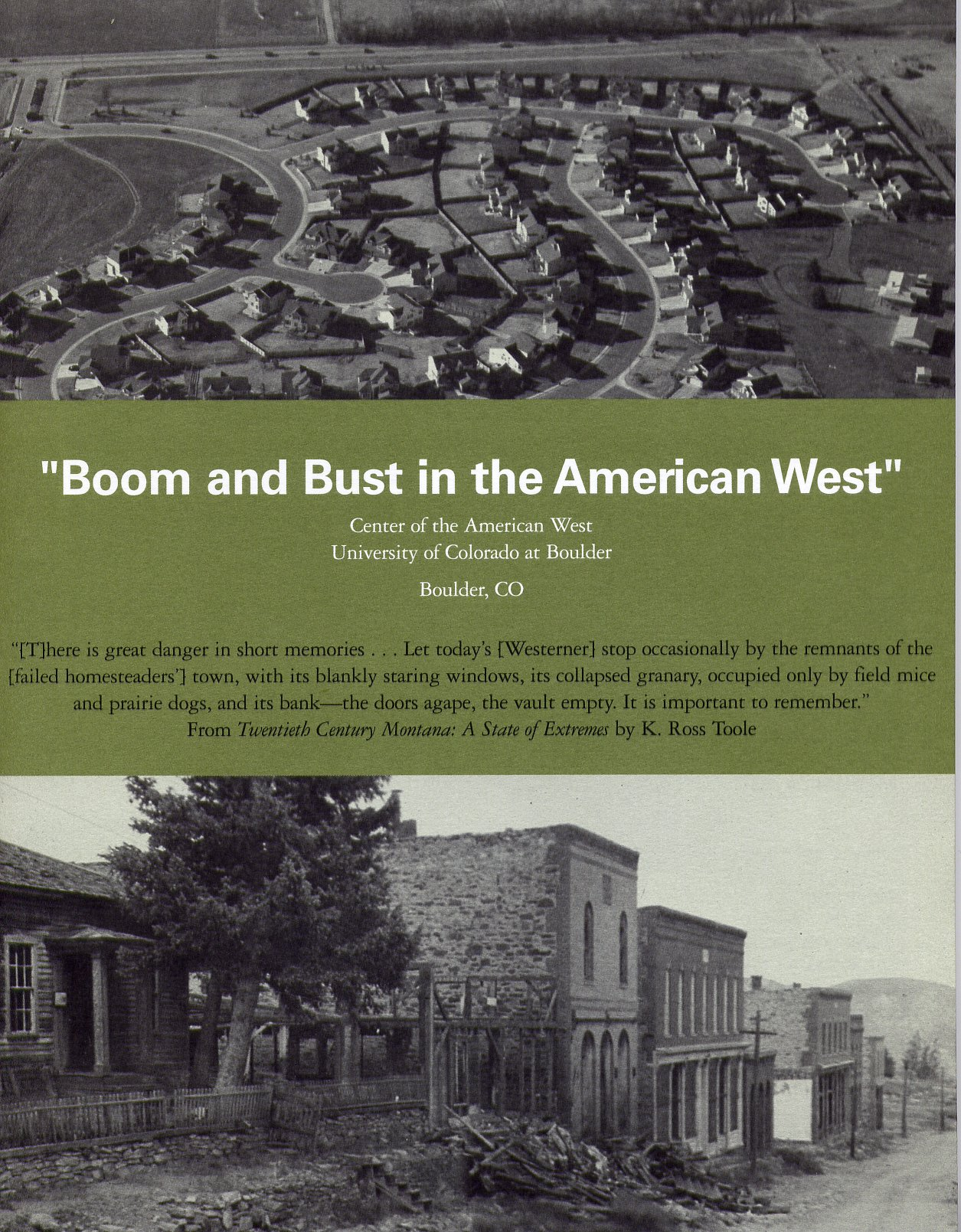 Boom and Bust in the American West ebook