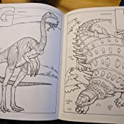 Dinosaur ABC Coloring Book Dover Books Llyn Hunter