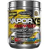 MuscleTech Performance Series VaporX5 Ripped Supplement, Icy Rocket Freeze 30 Servings