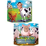 Beistle Barnyard Friends Photo Property, 3-Feet 10-Inch by 25-Inch, Multicolor