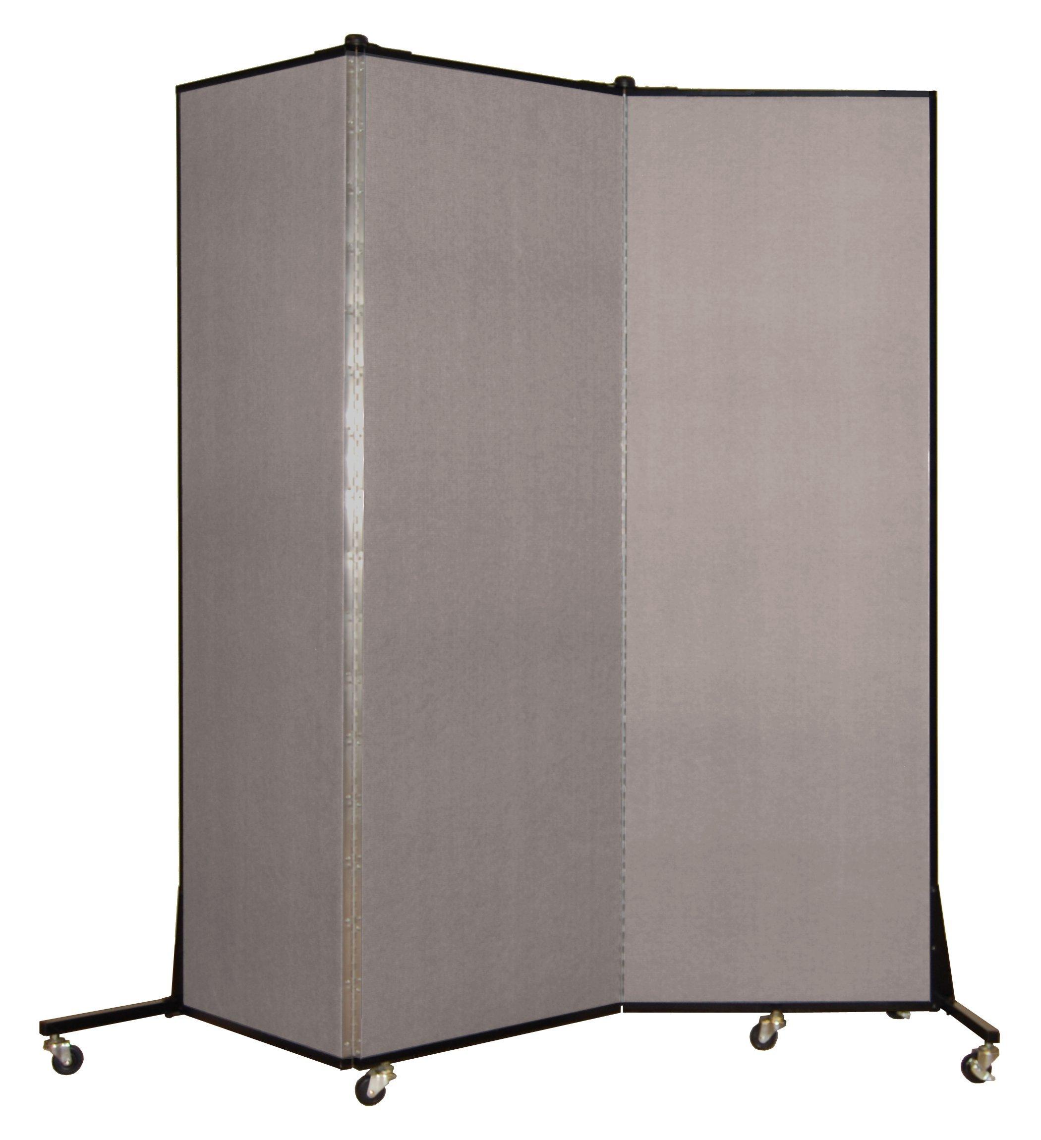 Screenflex BFSL683-BG Light Duty Portable Room Divider, 3 Panels