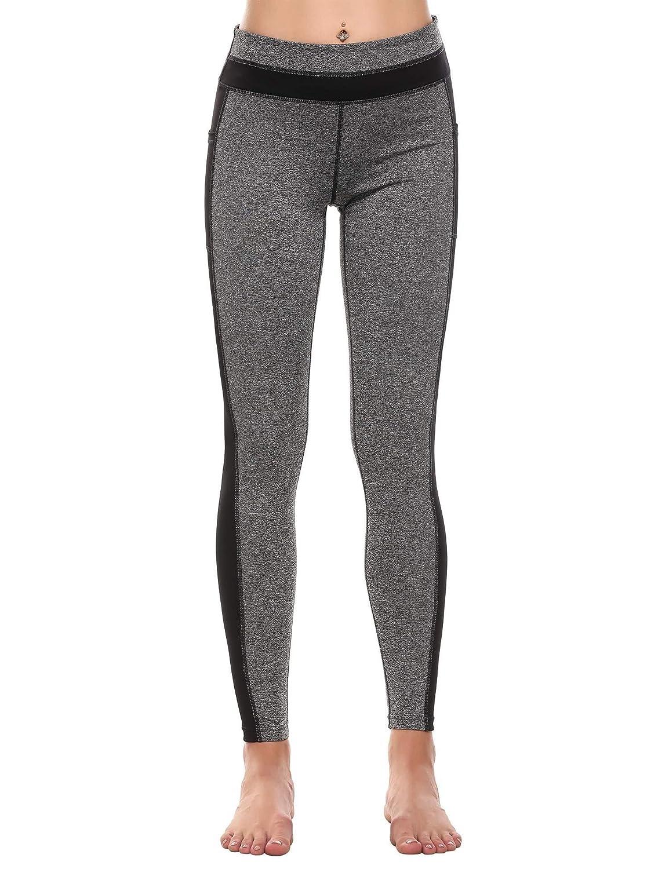 Amazon.com: donkap Yoga pantalones de la mujer flexible ...