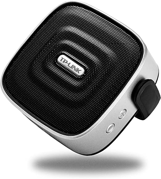 Amazon Com Tp Link Portable Bluetooth Speaker With Hd Sound 66ft Wireless Range 40mm Large Sound Driver With Extra Bass Mini Speaker With Adjustable Holder Great For Indoor Outdoor
