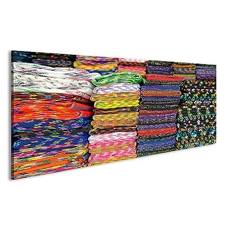 Quadro moderno tejidos y manualidades multicolor Mercato ...