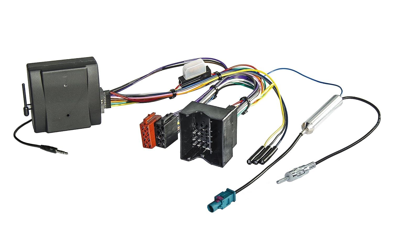 Adaptador para mando a distancia en el volante CB-1026P con interfaz bus CAN, para Audi, Seat, Skoda, Opel y Volkswagen con radio Pioneer (plug & play) Watermark