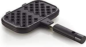 Happycall Nonstick Double Pan, Waffle, Double Sided Pan, Waffle Maker, Dishwasher Safe,Brown