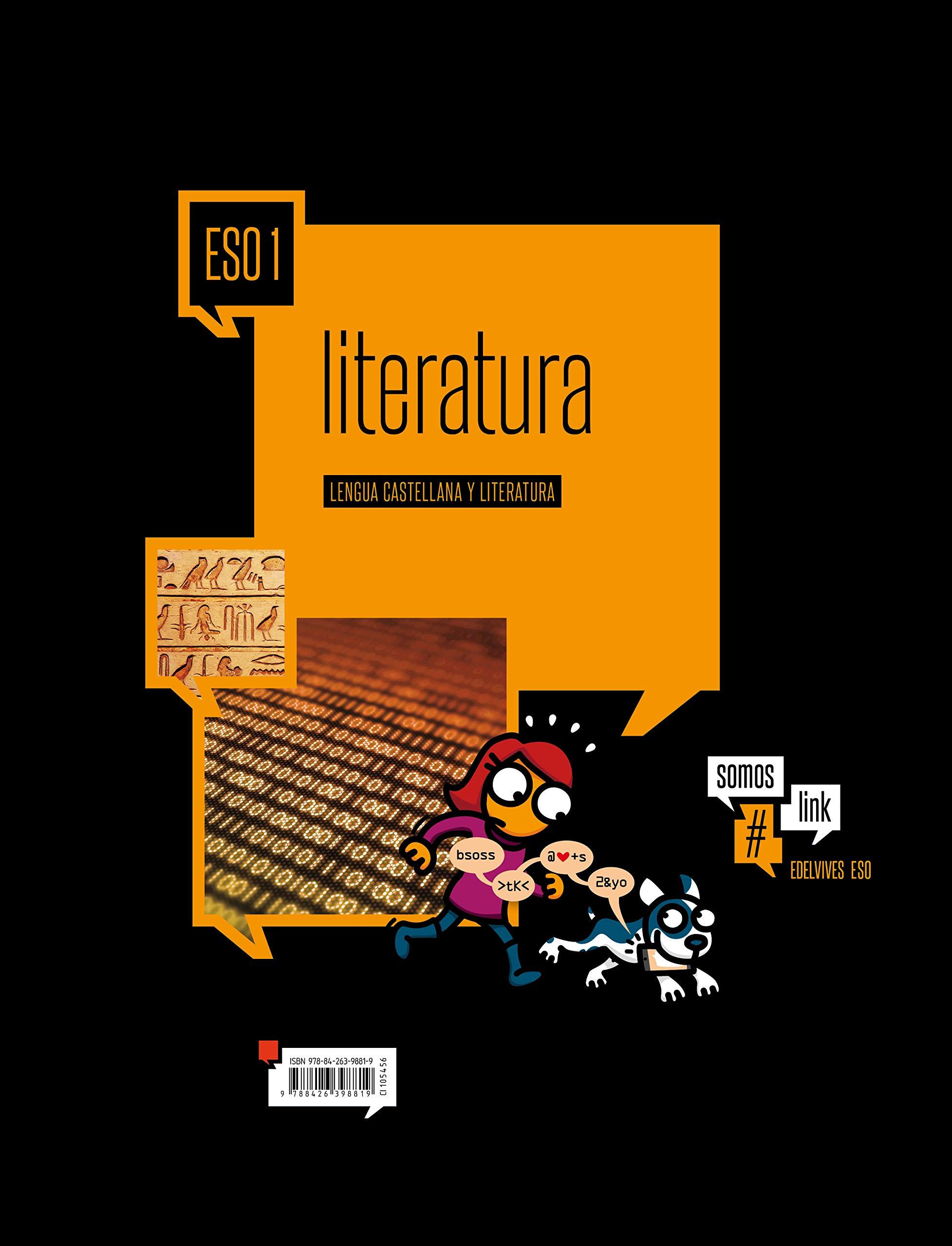 Lengua Castellana y Literatura 1º ESO SomosLink - 9788426398819 ...