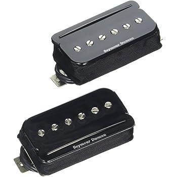 amazon com seymour duncan ts 1 triple shot flat pickup mounting humbucker diagram seymour duncan p rails set black electric guitar electronics