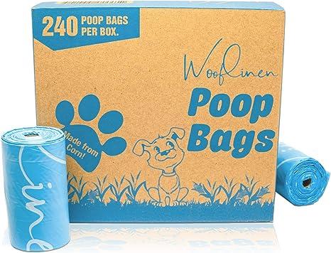Bolsas de Basura Woofline, ecológicas, biodegradables, sin Perfume ...
