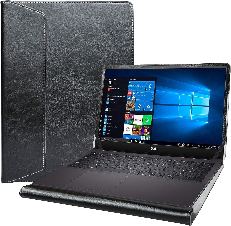 "Alapmk Protective Case for 15.6"" Dell Inspiron 15 7590 7591 5590 5598/Latitude 5500 5501 5510 5511/Vostro 15 5590 7590/Precision 3540 3541 3550 3551 Laptop[Not fit inspiron 15 2-in-1 7590],Black"