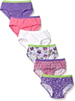 Fruit of the Loom Little Girls' 6pk Assorted Hipster