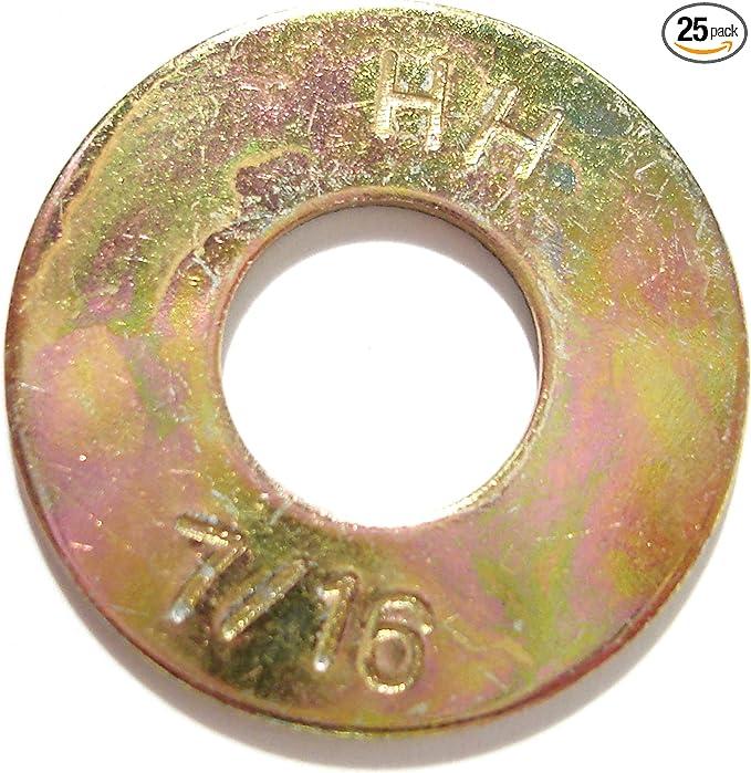 Piece-25 Hard-to-Find Fastener 014973269791 Grade 8 Split Lock Washers 7//16