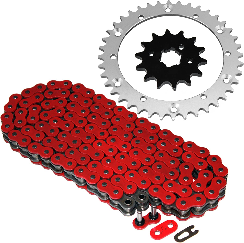 O-Ring Drive Chain /& Sprockets Kit Fits YAMAHA BANSHEE 350 YFZ350 1989-2006