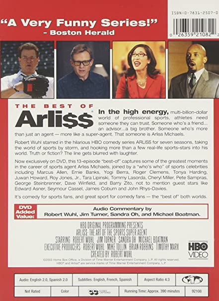 Amazon com: The Best of Arli$$: The Art of the Sports Super
