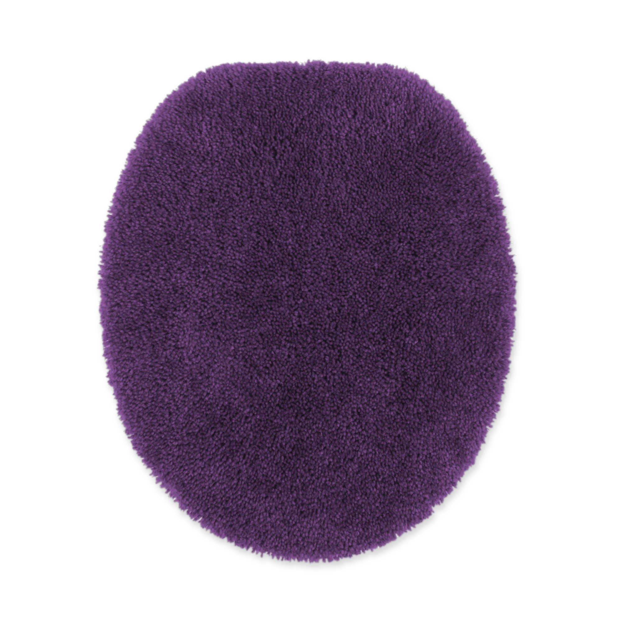 Wamsutta Duet Elongated Toilet Lid Cover in Iris