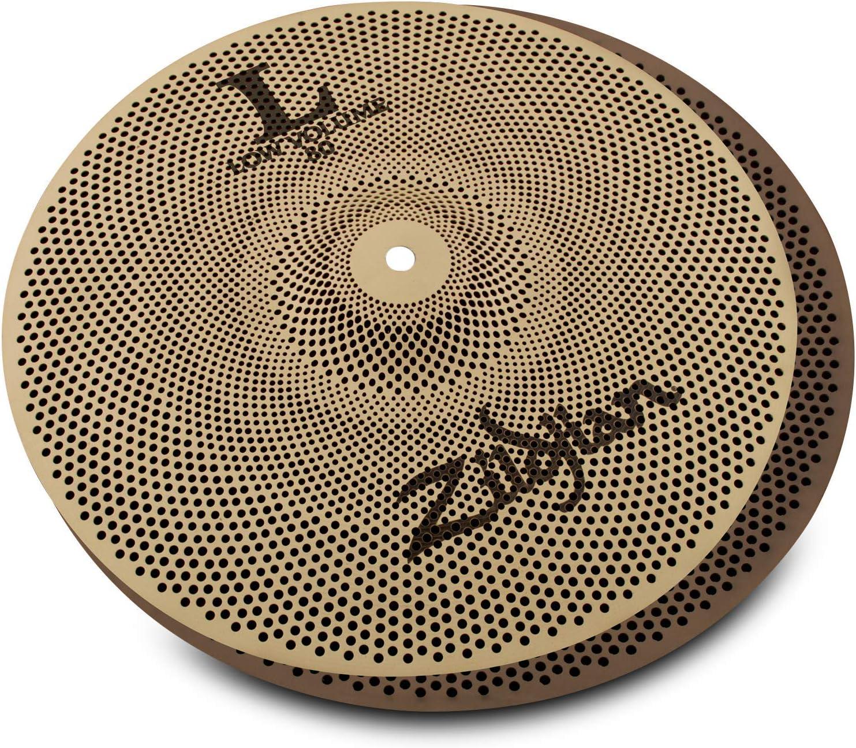14 Hi-Hats 18 Crash//Ride 16 Crash Zildjian L80 Series Low Volume 3 Cymbal Box Set