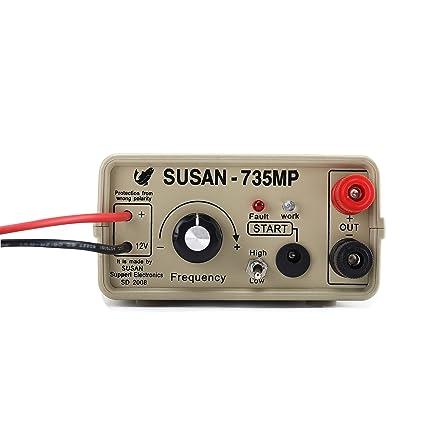 amazon com susan 735mp ultrasonic inverter electrofisher rh amazon com Electroshock Fish Equipment Anime Electrofisher
