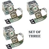 Miles Kimball Green Money Machine Cash Dispenser - Set of 3