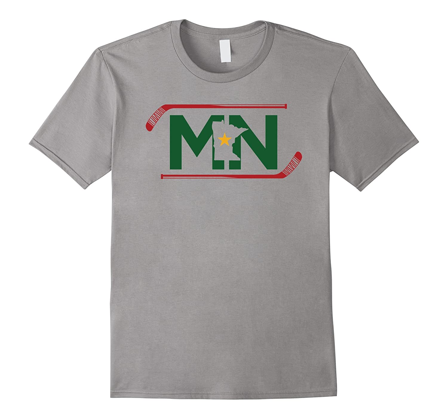 MN The State of Hockey T Shirt Unisex Adult and Kids-BN