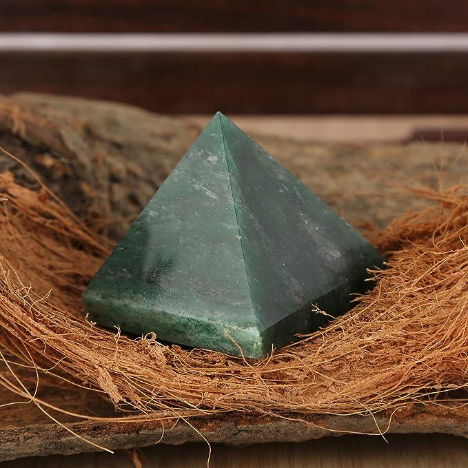 CRAFTSTRIBE verde giada reiki piramide egitto pietra casa ufficio ...