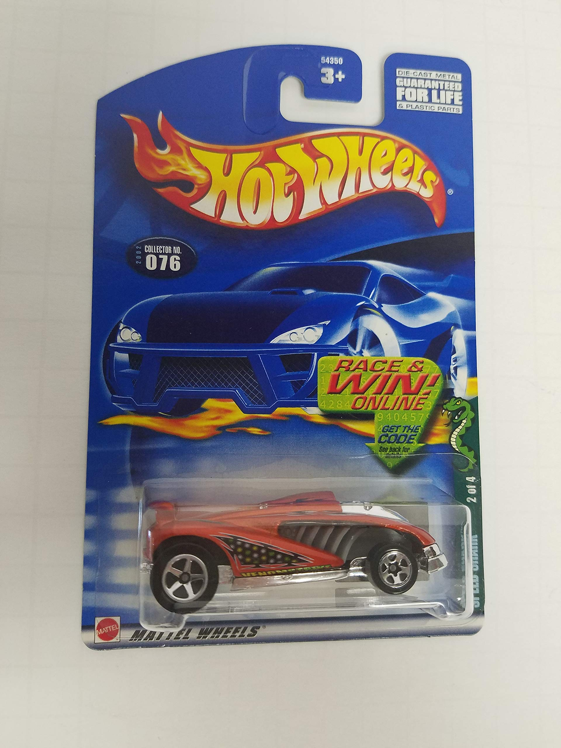 Speed Shark Hot Wheels 2002 diecast 1/64 scale car No. 076