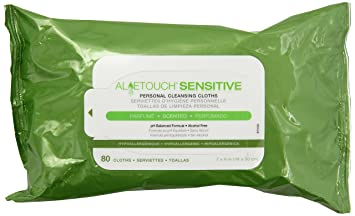 Aloetouch SELECT Premium Spunlace Personal Cleansing Wipes  6 Pack Neutrogena Oil-Free Acne Wash Redness Soothing Cream Cleanser 6 fl. oz
