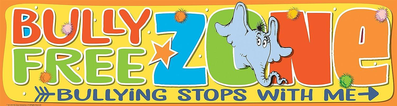 Eureka Teacher Supplies Dr. Seuss Horton Hears a Who Anti-Bullying Poster Bulletin Board Set, 12'' x 45''