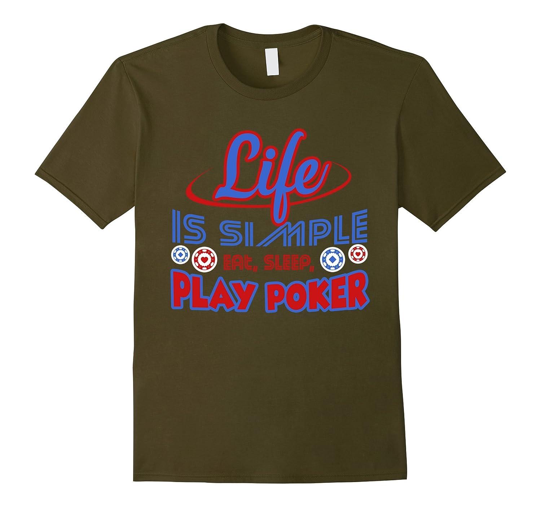 Poker Shirt - Play Poker T shirts-Vaci