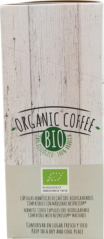 CAFES GUILIS DESDE 1928 AMANTES DEL CAFÉ - Cápsulas de Café Orgánico Compatibles con Máquinas Nespresso 100 unidades: Amazon.es: Alimentación y bebidas