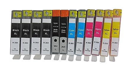 ESMOnline - 12 cartuchos de impresora XL para COMPATIBLES para HP ...
