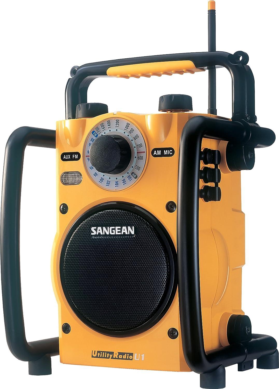 Sangean U3 AM/FM Ultra Rugged Digital Tuning Radio Receiver Sangean - CA U-3