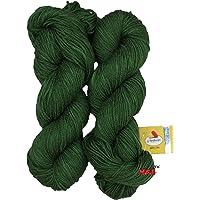 Vardhman Flaura 100% Acrylic Wool Multi Mehndi