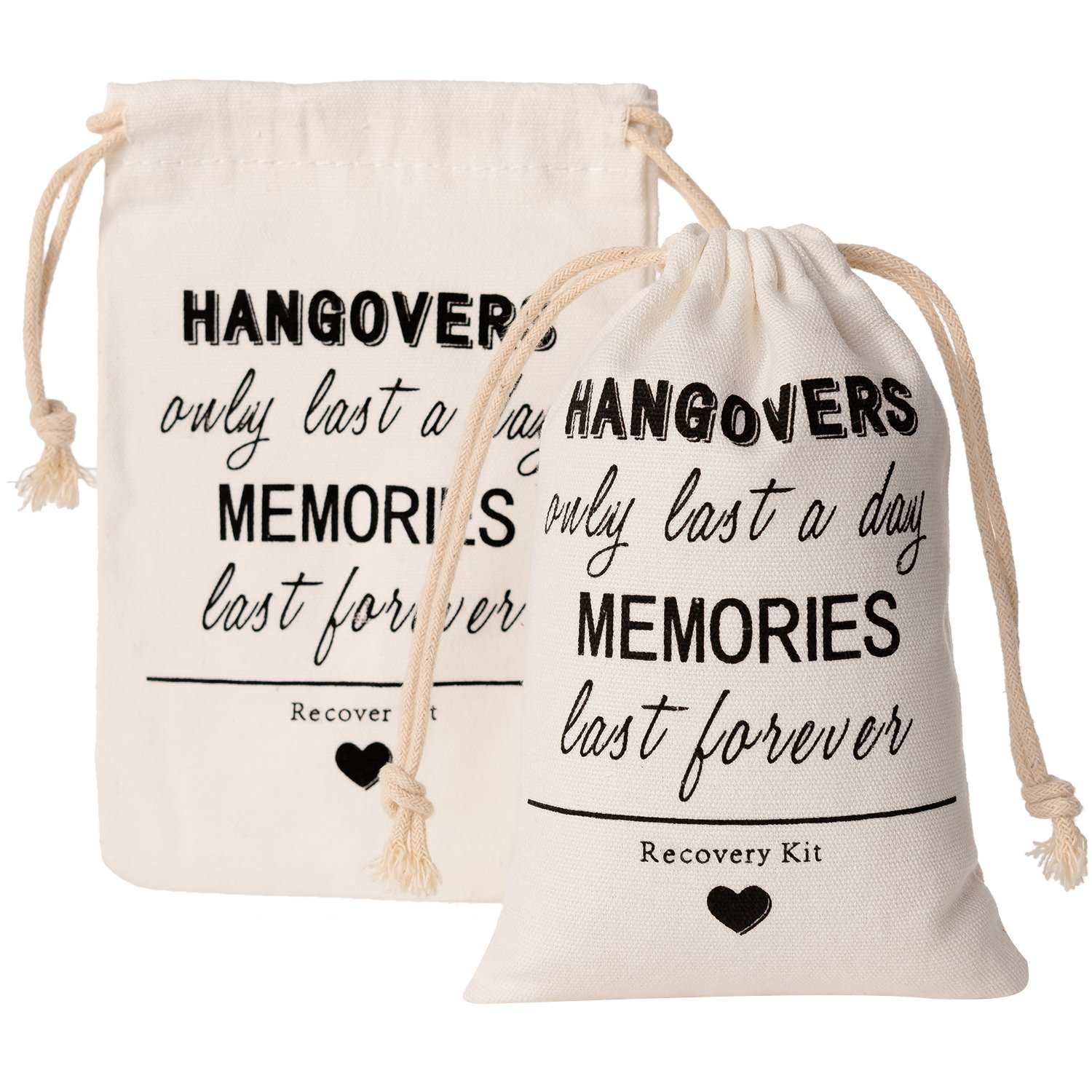 0816b5518e6c Crisky Hangover Kit Bags, Recovery Kit Bags, Bachelorette Party  Decorations,